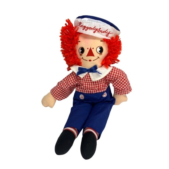 Vintage Applause Raggedy Andy Doll 1976